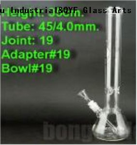 QYF20026---Borosilicate 3.3 Glass Smoking Water Pipes