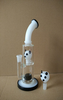 QYF2416--Glass Water Pipes with Panda Figure