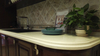 DL-12605 Daisy Champagne Quartz Slab Counter Top