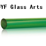 Colored Pyrex Glass Rods With COE33-Green