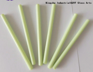 China TY Color Borosilicate3.3 Glass Rods-TY Green
