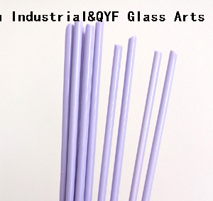China TY Color Borosilicate3.3 Glass Rods-Milky Violet