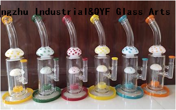 QYF15---Pyrex Bongs Made of US borosilicate 3.3 glass rods