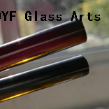 Color Borosilicate3.3 Glass Rods-Agate Green