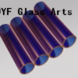 Blue Borosilicate Glass Tubing for hand blown