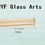 Cognac Colored Borosilicate3.3 Glass Rods for Smoking Water Pipes Production