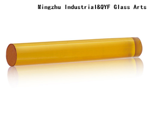 Colored Borosilicate3.3 Glass Rods-Yellow