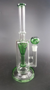 QYF2364--Pyrex Glass Bongs with Water Recycler