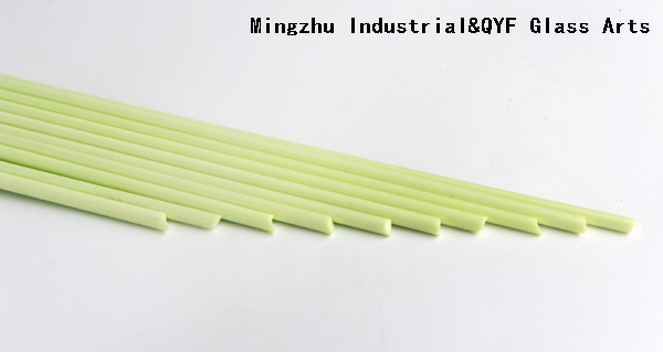 China TY Color Borosilicate3.3 Glass Rods-TY Milky Green
