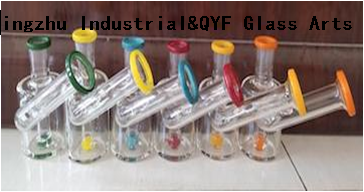 QYF19---Pyrex Bongs Made of US borosilicate 3.3 glass rods