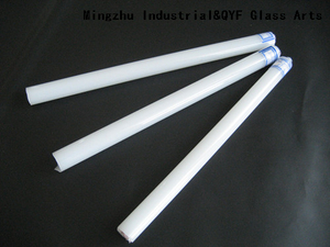 Color Borosilicate Glass Rods With COE33-Jade White