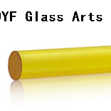 Colored Borosilicate3.3 Glass Rods-Golden Champagne
