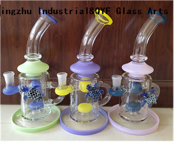 QYF22---Pyrex Bongs Made of US borosilicate 3.3 glass rods