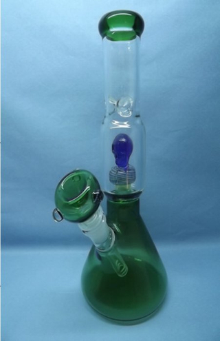 QYF2251-hand blown Pyrex glass smoking water pipes