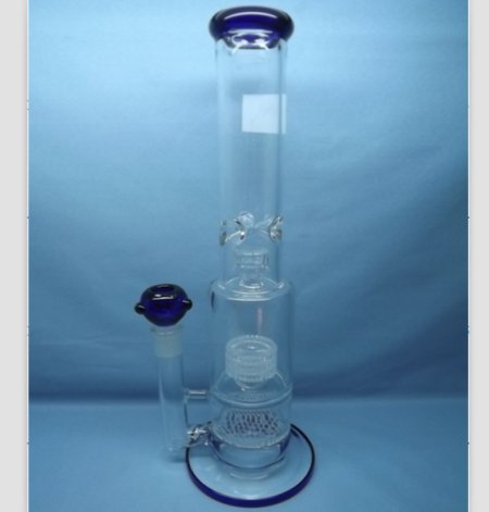 QYF2230-matrix percolator glass water pipes for tobacco use